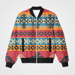 Abstract Vintage Pattern 3D Printed Unisex Jacket