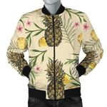 Pineapple Cool Summer Pattern 3D Printed Unisex Jacket