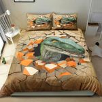 Dinosaur Break The Mould Printed Bedding Set Bedroom Decor