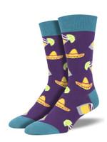 "Men's ""Fiesta Friday"" Socks Comfortable Funny Cute Unique Socks"