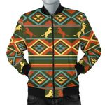Color Horse Western Pattern 3D Printed Unisex Jacket