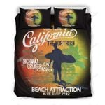Surfing Life Beach Attraction Bedding Set Bedroom Decor