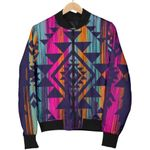 Native Tribal Aztec Pattern  3D Printed Unisex Jacket