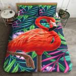 Royal Flamingo Pattern Printed Bedding Set Bedroom Decor