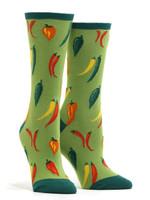 Women's A Little Chili Socks Comfortable Funny Cute Unique Socks