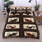 Pattern Rooster Photo Bedding Set Bedroom Decor