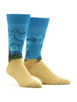 Men's Van Gogh - Wheat Field With Cypresses Socks Comfortable Funny Cute Unique Socks