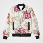 Beautiful Floral 3D Printed Unisex Jacket