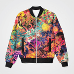 Painting Watercolor 3D Printed Unisex Jacket