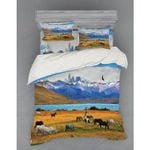 Scenery Animal Wildlife World Printed Bedding Set Bedroom Decor