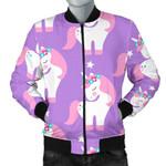 Beautiful Unicorn Pattern 3D Printed Unisex Jacket