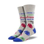 Snappy Dresser For Men Women Comfortable Funny Unique Socks
