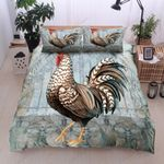 Chicken Young And Free Printed Bedding Set Bedroom Decor