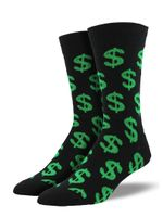 "Men's ""Cha-Ching!"" Socks Comfortable Funny Cute Unique Socks"