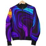 Dark Psychedelic Trippy 3D Printed Unisex Jacket