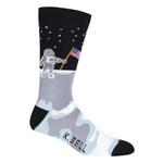 Man on the Moon Lovely Birthday Gift For Men Women Comfortable Unique Socks