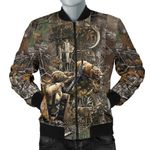 Bow Hunting Deer 3D Printed Unisex Jacket
