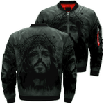 Jesus All For You 3D Printed Unisex Bomber Jacket