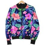 Hawaii Exotic Flowers Pattern  3D Printed Unisex Jacket
