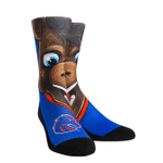 Boise State Broncos - Buster Mascot Crew Comfortable Funny Cute Unique Socks
