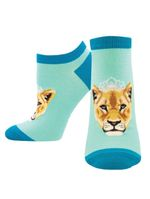 "Women's ""Queen Of The Pride"" Ped Socks Comfortable Funny Cute Unique Socks"