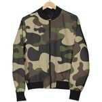 Army Green Camouflage  3D Printed Unisex Jacket