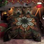 Fractal Dark Pattern Printed Bedding Set Bedroom Decor