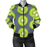Slice Of Green Kiwi Pattern 3D Printed Unisex Jacket