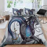 Angry Capricorn Printed Bedding Set Bedroom Decor