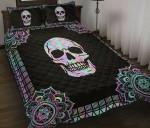 Skull Mandala  Printed Bedding Set Bedroom Decor