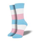 Trans Pride Socks Lovely Birthday Gift For Men Women Comfortable Unique Socks