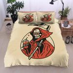 Funny Skeleton Drinking Water Printed Bedding Set Bedroom Decor
