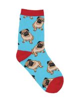"Kid's ""Pug"" Socks Lovely Birthday Gift Comfortable Unique Socks"