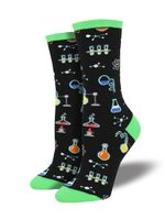 "Women's ""All The Solutions"" Socks Comfortable Funny Cute Unique Socks"