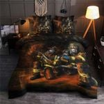 Proud To Be Firefighter Printed Bedding Set Bedroom Decor