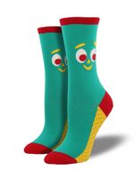 Women's Gumby Face Socks Comfortable Funny Cute Unique Socks