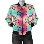 lotus Boho Pattern 3D Printed Unisex Jacket