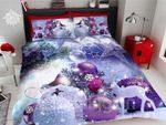 Christmas Ball Meaningful Night Printed Bedding Set Bedroom Decor