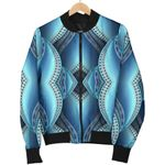 Mandala Waves Bohemian Pattern  3D Printed Unisex Jacket