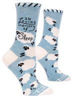In Loving Memory of Sleep Birthday Gift Ideas For Men Women Cotton Funny Comfortable Cute Unique Socks