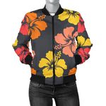 Color Hibiscus Pattern 3D Printed Unisex Jacket