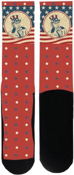 Uncle Sam Socks Lovely Birthday Gift For Men Women Comfortable Unique Socks