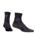 Hex Performance - Basics - Quarter - Black Comfortable Cute Funny Unique Unisex Socks