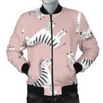 Cute Zerbra Pattern 3D Printed Unisex Jacket