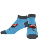 "Men's ""Cock Sock"" Ped Socks Comfortable Funny Cute Unique Socks"