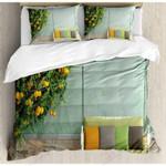 A Lemon Tree 3D Bedding Set Bedroom Decor