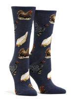 Women's Hen House Socks Comfortable Funny Cute Unique Socks