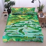 Crocodile Living Inhabitant Bedding Set Bedroom Decor