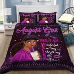 Purple August Girl Wonderful Different Printed Bedding Set Bedroom Decor