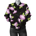 Morning Glory Pattern 3D Printed Unisex Jacket